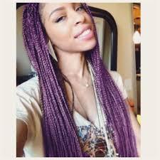 Goddess Hair Style purple box braids purple hair box braids cool hair the goddess 7923 by wearticles.com