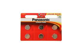 <b>Батарейка Panasonic Power Cells</b> CR2032 BL-6 (60)