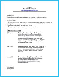 Dance Resume For Modern Pin On Resume Template Pinterest Resume Dance Resume And Resume