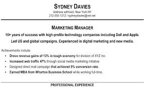 Resume Marketing Executive Summary Elegant Best Executive Resume