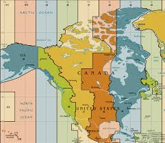 Usa Time Zone Map Indiana Arizona Daylight Savings Map Bnhspine