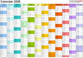 Planner 2020 Template Calendar 2020 Uk 16 Free Printable Pdf Templates