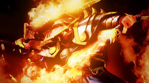 wallpapers dota 2 ember spirit magic warriors fantasy fire games