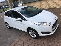 2018 ford fiesta 1 2 zetec petrol 5 door hatchback white colour low mileage 22k only