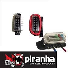 p ha 6 blade fuse box pre wired lateral connector caravan p ha 6 blade fuse box pre wired lateral connector caravan camper 4wd