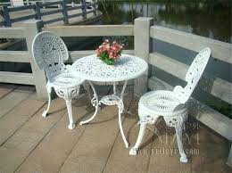 metal outdoor table and chairs white metal outdoor furniture impressive aluminium patio furniture cast aluminium garden