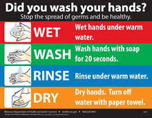 Hand Washing Chart Free Printable Handwashing Health Senior Services