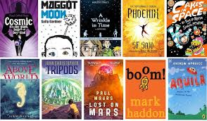 once a month i lead a book group for 8 12 year olds at our local public library and our most recent session was about science fiction books