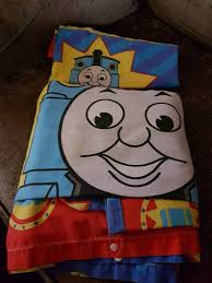 2 x thomas the tank engine single duvet covers