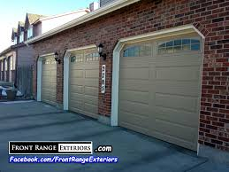 garage door repair colorado springsFront Range Exteriors Inc  Painting Replacement Gutters Garage