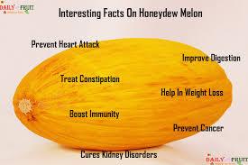 Cantaloupe Nutrition Chart Nutrition Chart For Honeydew Melon