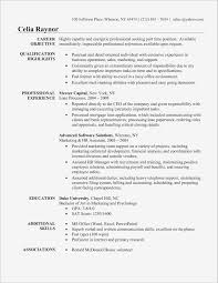 Resume For Administration Jobs