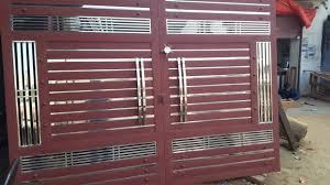 Steel Gate Design With Price Double Door Steel Gate Design Price Rs 35 000 Best Selling