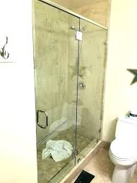 how much to install a shower door how to install glass shower door sliding installation how much