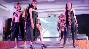 Nift Fashion Designing College In Chennai Nift Chennai Spectrum 2017 Accessory Design Fashion Show