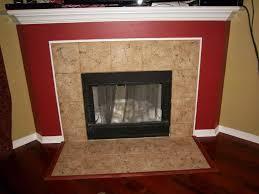painting fireplace tile granite