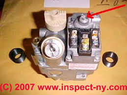 functions of a heater or appliance gas regulator