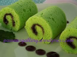 Bolu Gulung Pandan Mini Pawons Gallery Kuliner Dan Hobby