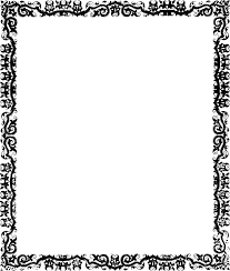 fancy frame border transparent. Clipart Borders Vintage. Fancy Frame Border Transparent P