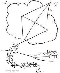 Small Picture Free Kite Coloring Pag Alltoys