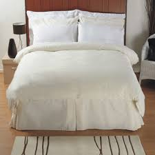 single exclusive 200 thread count pure egyptian cotton duvet cover in white thumbnail 1