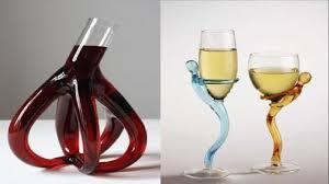 strange wine glasses. Most Strange Drinking Bottles And Glasses To Wine