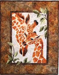 Giraffe Baby Quilt, pattern from Zirafah by Toni Whitney. Reminds ... & Giraffe Baby Quilt, pattern from Zirafah by Toni Whitney. Reminds me of  such a Adamdwight.com