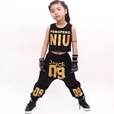 Hip hop girl clothing