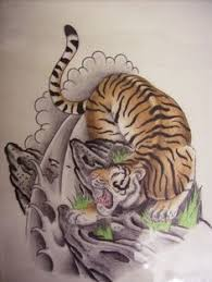 japanese tiger tattoo drawing. Simple Drawing Japanese Tiger Drawings Drawing And Tattoo
