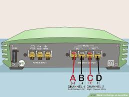 how to bridge an amplifier 7 steps pictures wikihow image titled bridge an amplifier step 2