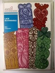 Design Bookmarks Details About Anita Goodesign Embroidery Design Cd Lace Bookmarks Mini Collection 63maghd