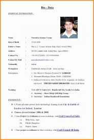 how to make bio data format download free how to make a bio data for job application