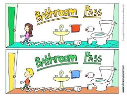 bathroom pass bathroom pass template bathroom pass ideas for elementary school bathroom pass