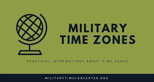 Military Zulu Time Chart Military Time Zones A Complete Guide With Time Zones Chart