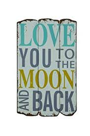 creative wood love you to the moon and back wall plaque on teak wall art panels with amazon large carved teak wood wall art decor 3d panel with