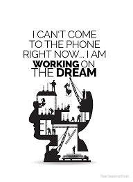 Fearless Quotes Amazing Working On The Dream Motivational Quote By Fearless Motivation By