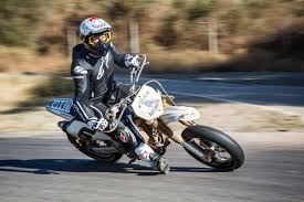 the supermoto track in the middle of nowhere where celebrities go