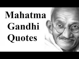 Famous Gandhi Quotes Fascinating Famous Quotes By Mahatma Gandhi His Best Quotes YouTube