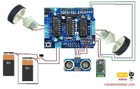 make your first arduino robot the best beginners guide hackster io make your first arduino robot schematic robotech maker