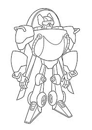 Optimus Prime Coloring Page Transformers Coloring Page Transformers