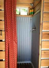 corrugated metal shower diy outdoor argosy 6