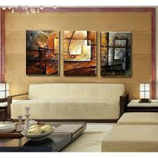 modern art for office. Artikel Modern Office Administration Art Decor Mid Century 3pcs Unframed Canvas Oil Painting Set Stylish Cuadros Decoration For
