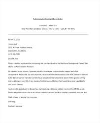Cover Letters Samples Free Resume Letter Directory