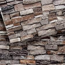Brick Wallpaper, Stone Textured ...
