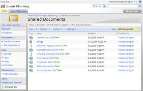 Sharepoint Website Examples Integrating Episerver Cms 5 With Microsoft Sharepoint User