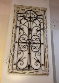 wood and metal wall decor new exceptional iron gate wall decor 6 wood panel wall decor