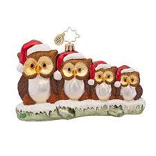 Christopher Radko Owl in the Family Christmas Ornament (retired)