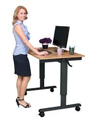 quick view 48 crank adjule height standing desk