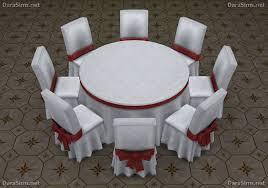 big round festive dining tables 6 8 seats at dara sims image 10117 670x472