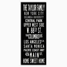 taylor family personalized photo wall art custom vip sale modern contemporary canvas quotes letters words design on custom word wall art canvas with wall art designs perfect personalized photo wall art for your
